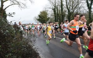 Rob McTaggart in the Chichester 10k