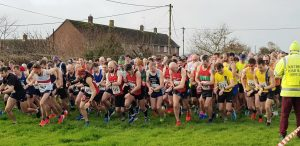 Start of Blackmore Vale Half Marathon