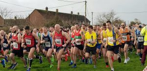 BAC guys get their race underway at the Blackmore Vale Half Marathon