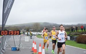 Rob Spencer and Tag in the Chichester 10k