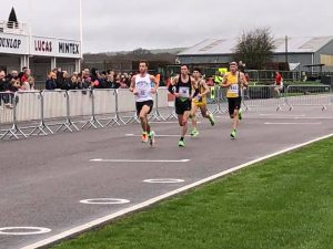 Tag and Rob Spencer in action in the Chichester 10k