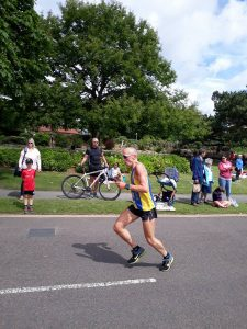 Graeme Miller in the Wokingham Half Marathon