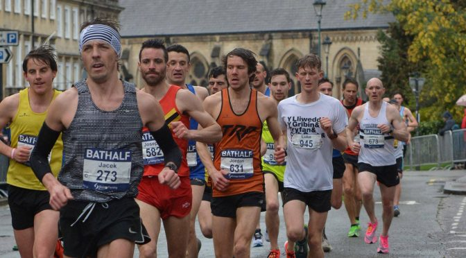 Last blast for Jacek and Sanjai at Bath Half Marathon