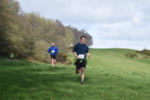 Joseph Morrison in the Up on the Downs 10k
