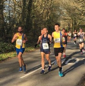 Rich Brawn and Stu Nicholas in the Wimborne 20