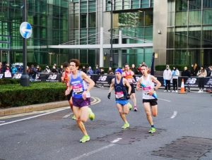 Rob McTaggart in the Vitality Big Half