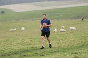 Ross Goldsmith competes in the Larmer Tree Half Marathon