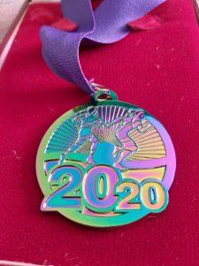 Sherborne 10k medal