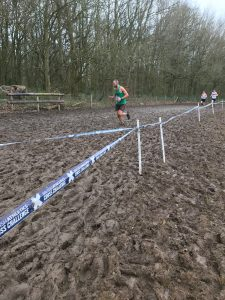 Rich soldiers on in the UK Inter Counties Cross Country