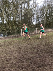 Rich and Bruce Campbell in the UK Inter Counties XC
