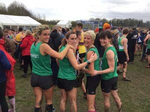 Backs of Dorset Senior Women's team