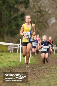 Mariah Marshall in the Under 13 Girls race