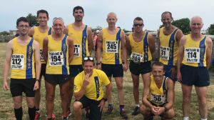 Bournemouth AC team for road race