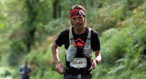Jacek Cieluszecki in the CTS Exmoor Ultra Marathon