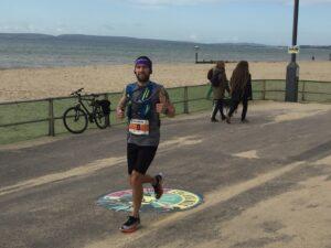 Trev still going strong after already having gone over marathon distance
