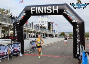 Erin Wells completes the Running Grand Prix 5k