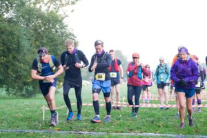 Harry gets away quickly in Run the Sea ultra
