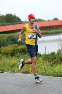 Rich Brawn pushes on in Dorney Lake Marathon
