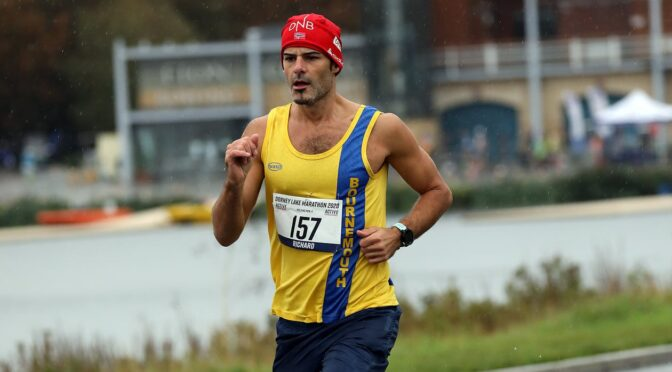 Rich, Tag and Sanjai find opening for marathon at Dorney Lake