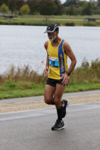 Sanjai Sharma tackles Dorney Lake Marathon