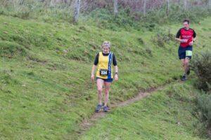 Helen Ambrosen competing in the Hellstone Half Marathon