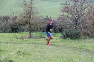 JC on his way to winning the Hellstone Marathon