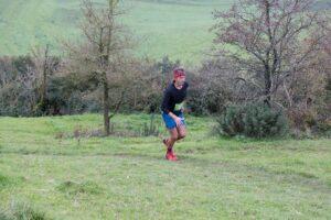 JC on his way to winning the Hellstone Marathon