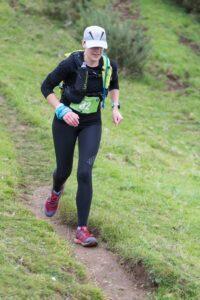 Kirsty Drewett in action in the Hellstone Marathon