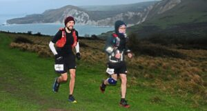 Pete Thompson and Billy McGreevy in the Endurance Life Dorset Ultra