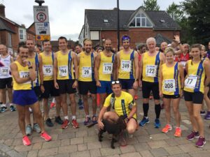 Bournemouth AC team from happier times