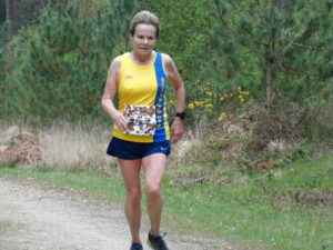 Helen Ambrosen in the EA Virtual Road Relay