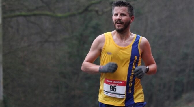 Ant Clark takes top M40 props at Dorney Marathon