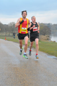 Josh Cole in action in the Tatton 10k