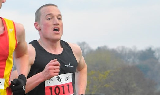 Josh Cole on fire in Tatton 10k