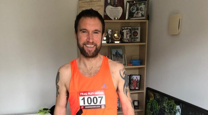 Trev Elkins looking ready for the New Forest Off-Road 10k