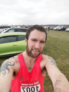 Trev Elkins at the New Forest Off-Road 10k