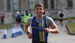 Harry Smith in the Ashridge Standard Distance Duathlon