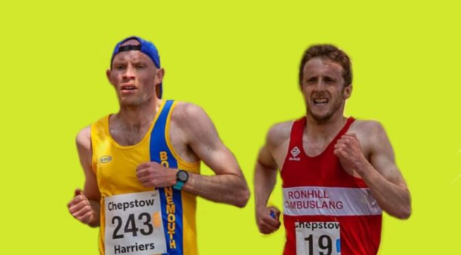 Rob Spencer and Grant Sheldon in the Speedway 10k