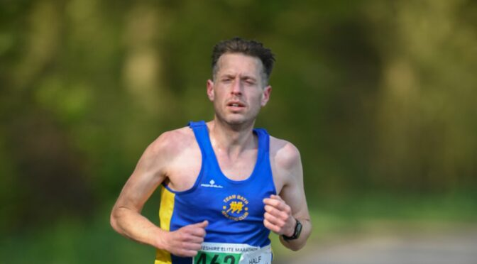 Tom Craggs runs Cheshire Half Marathon in tribute to Tash
