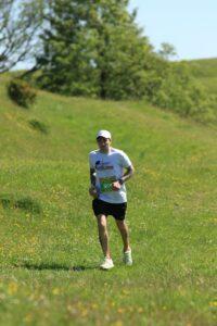 Adam Corbin taking on the Crafty Fox Half Marathon