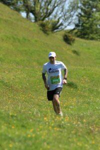 Adam Corbin in the Crafty Fox Half Marathon