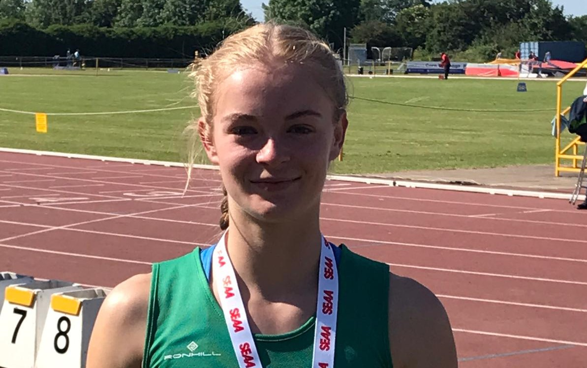Double medal delight for sprint sensation Amelia at Southern AA Champs