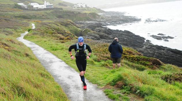 Andy Gillespie defies downpour to complete Devon Coast Challenge