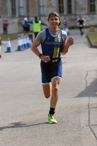Harry Smith runs for glory in The Huntsman Tri