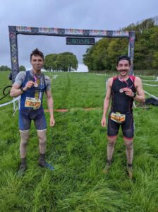 Harry Smith finishes the TrailX Spring Off Road Duathlon