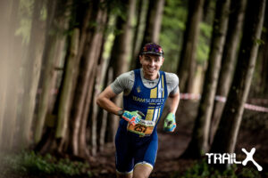 Harry Smith in the TrailX Spring Off Road Duathlon