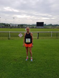 Heather Khoshnevis at the Kempton Park Marathon
