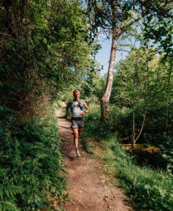 JC progresses round the 57km course