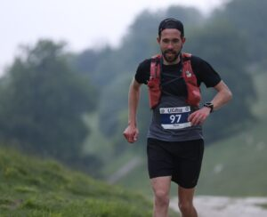 Pete Thompson in the South Downs 100k