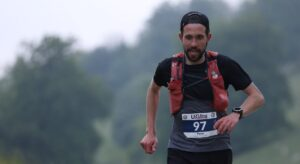 Pete Thompson during South Downs 100k